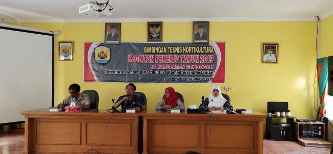 Bimtek Hortikultura Kegiatan Bekerja Tahun 2019 Di Kabupaten Grobogan